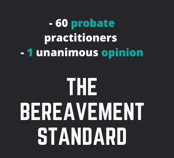 the bereavement standard
